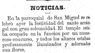 Diario de Murcia. 30 de septiembre de 1881, p. 2.