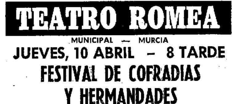 CUADRILLAS Y AUROROS EN EL TEATRO ROMEA, 1980