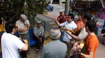 Cuadrilla Mediterránea. Alhama de Murcia. 8 de mayo de 2005. Fotografía: Manuel Sánchez