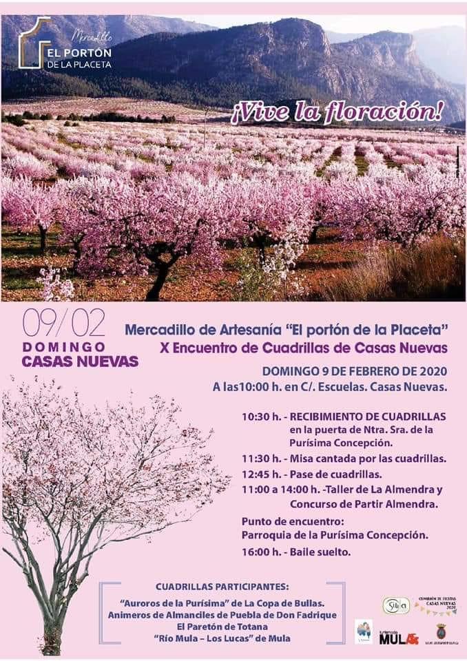 X ENCUENTRO DE CUADRILLAS EN CASAS NUEVAS (MULA)