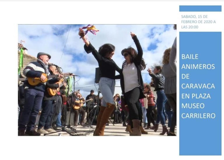 BAILE CON LOS ANIMEROS DE CARAVACA
