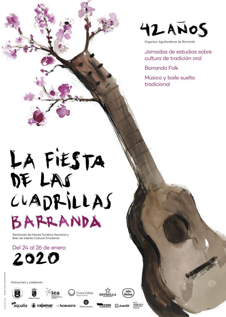 Cartel de la Fiestas de las Cuadrillas 2020