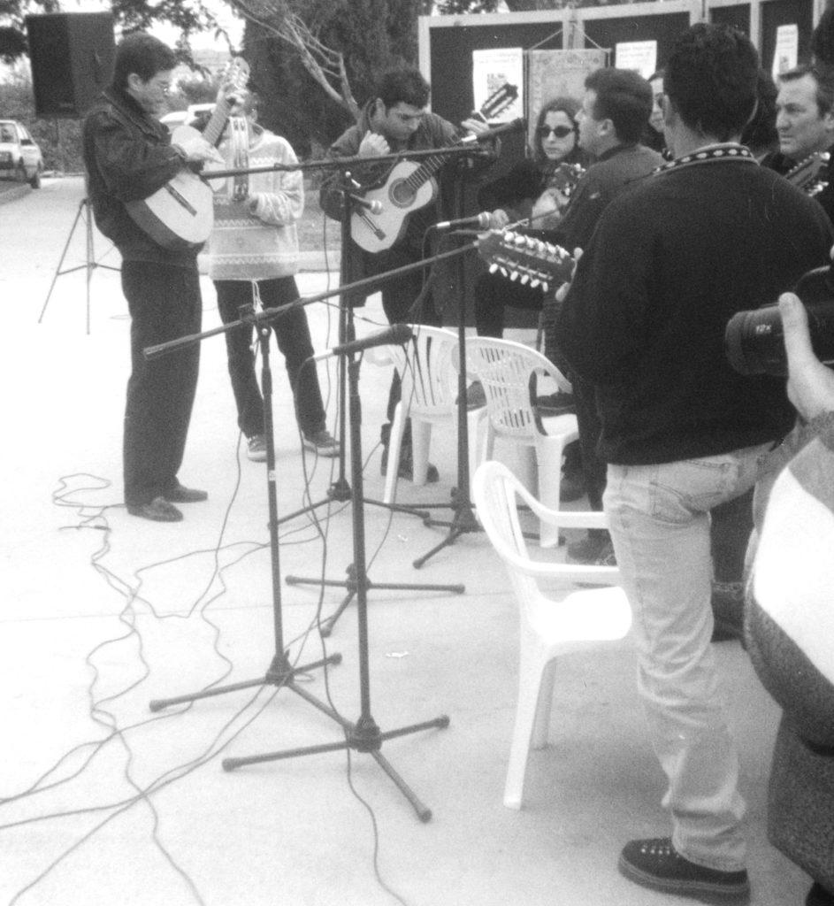 Cuadrilla de Patiño.Encuentro de Música Tradicional en la Navidad IV. Fotografía: Tomás García.