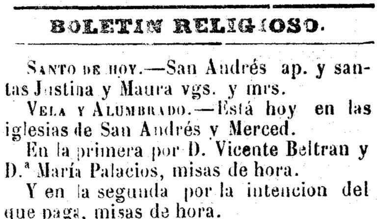 LA FESTIVIDAD DE SAN ANDRÉS EN LA HUERTA DE MURCIA