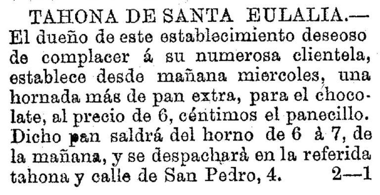 EL COMERCIO EN SANTA EULALIA (MURCIA)