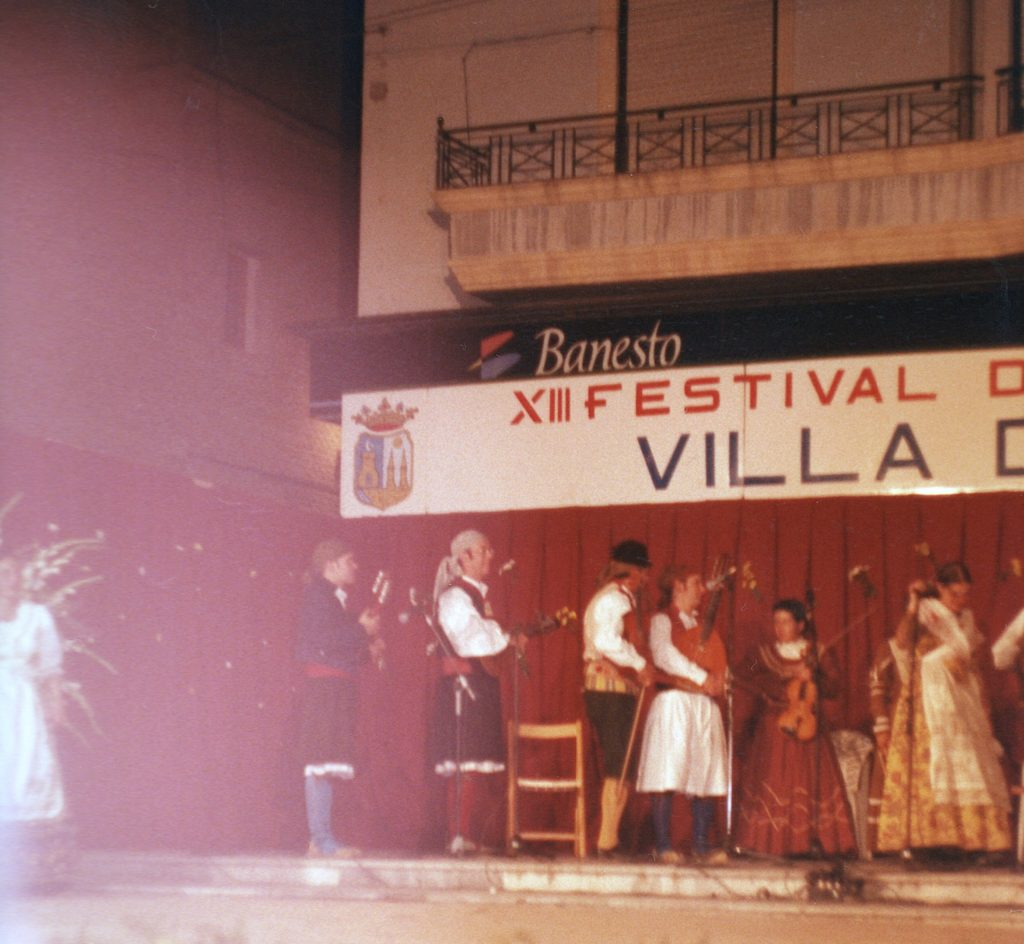 Músicos. XIII Festival de Folklore de Beniel. 22 de mayo de 1999.