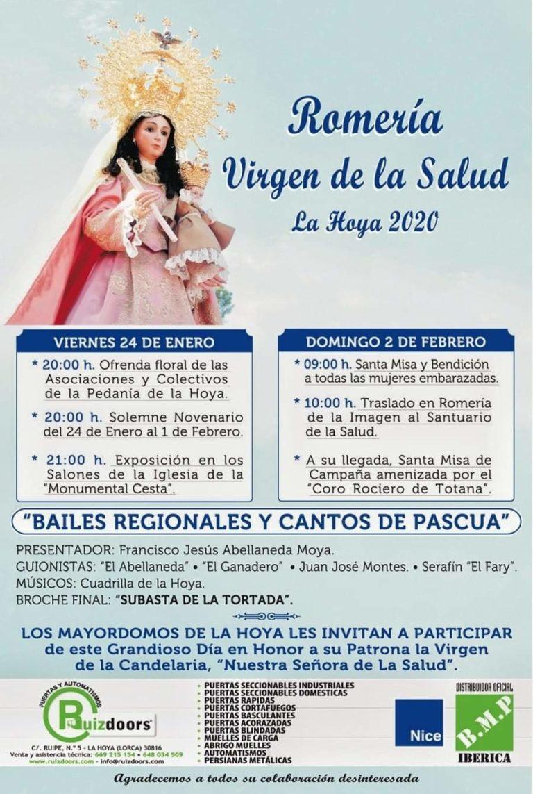 ROMERÍA DE LA VIRGEN DE LA SALUD (LA HOYA)