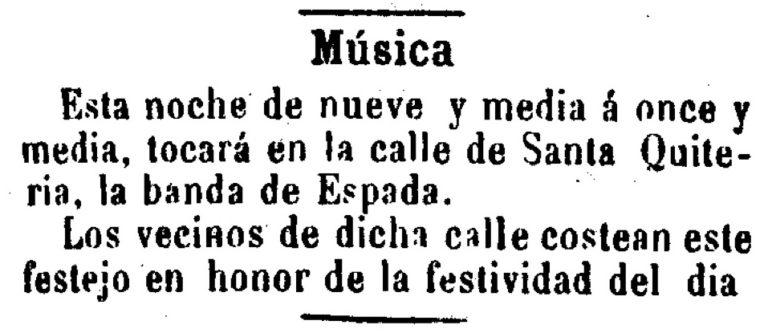 LAS FIESTAS EN EL BARRIO DE SANTA EULALIA (MURCIA)