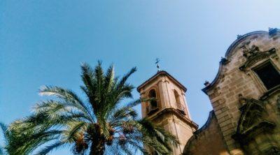 Campanario de Santa Eulalia (Murcia). Fotografía: Tomás García.)