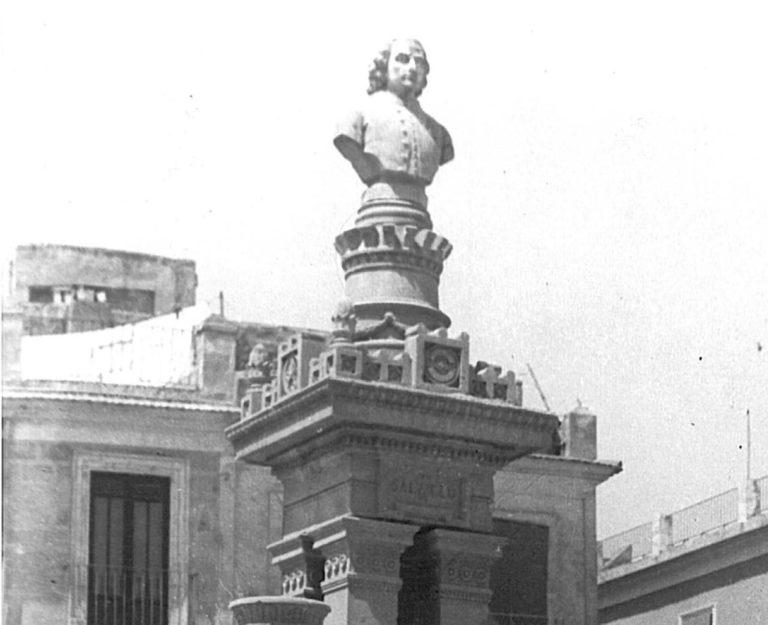 LA FUENTE Y ESCULTURA DE SALZILLO: UN MONUMENTO DE FINALES DEL SIGLO XIX. SANTA EULALIA (MURCIA).