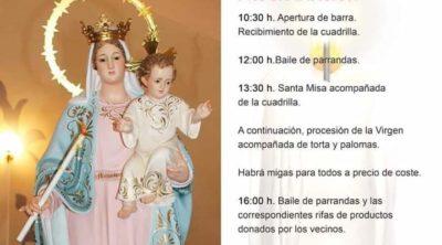 Cartel de la fiesta de Tonosa (Almería)