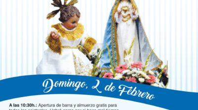 Cartel de La Fiesta de La Candelaria en El Piar