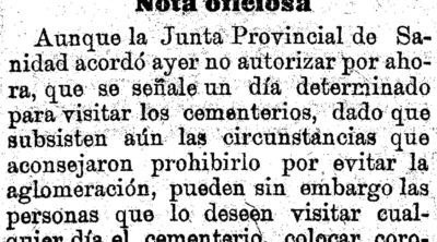 El Liberal. 10 de noviembre de 1918.