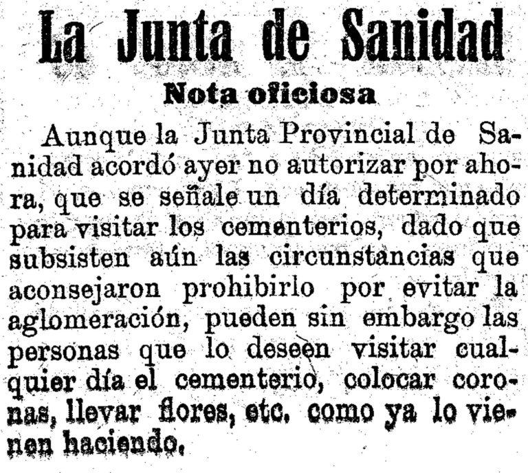 FIESTAS MURCIANAS DURANTE EL AÑO DE LA GRIPE DE 1918