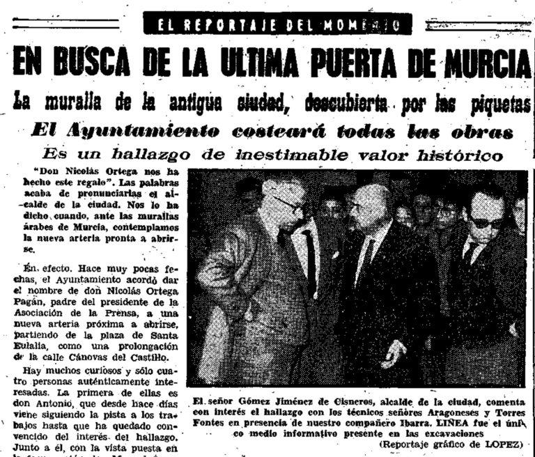 EL DESCUBRIMIENTO. SANTA EULALIA (MURCIA)