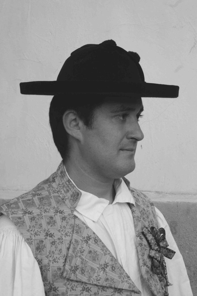 Murciano con sombrero calañés. Fotografía: Tomás García.
