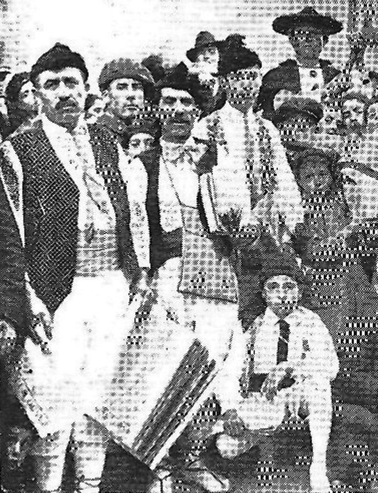 Bando de la huerta en Cartagena (1928)