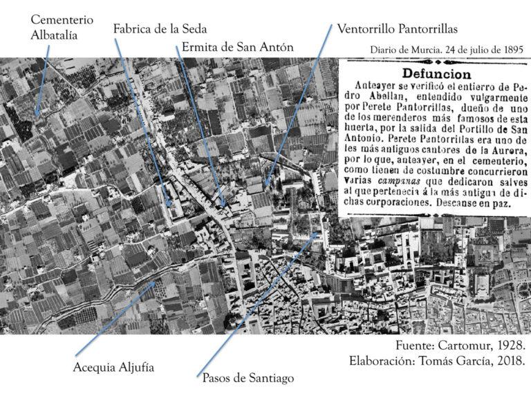 PERETE PANTORRILLAS: UN AURORO DE MURCIA EN EL SIGLO XIX